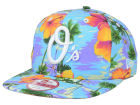 Baltimore Orioles New Era MLB All Tropical 9FIFTY Snapback Cap Adjustable Hats