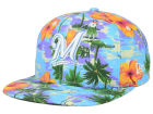Milwaukee Brewers New Era MLB All Tropical 9FIFTY Snapback Cap Adjustable Hats
