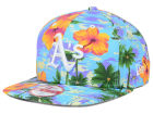 Oakland Athletics New Era MLB All Tropical 9FIFTY Snapback Cap Adjustable Hats