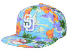 San Diego Padres New Era MLB All Tropical 9FIFTY Snapback Cap Adjustable Hats