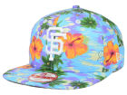 San Francisco Giants New Era MLB All Tropical 9FIFTY Snapback Cap Adjustable Hats