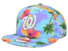 Washington Nationals New Era MLB All Tropical 9FIFTY Snapback Cap Adjustable Hats
