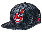 Cleveland Indians New Era MLB Night Tropic 9FIFTY Snapback Cap Adjustable Hats