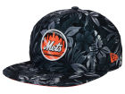 New York Mets New Era MLB Night Tropic 9FIFTY Snapback Cap Adjustable Hats