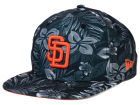 San Diego Padres New Era MLB Night Tropic 9FIFTY Snapback Cap Adjustable Hats
