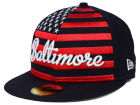 Baltimore Orioles New Era MLB Big Merica 59FIFTY Cap Fitted Hats
