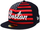 Boston Red Sox New Era MLB Big Merica 59FIFTY Cap Fitted Hats