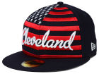Cleveland Indians New Era MLB Big Merica 59FIFTY Cap Fitted Hats