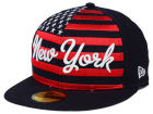 New York Mets New Era MLB Big Merica 59FIFTY Cap Fitted Hats