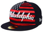 Philadelphia Phillies New Era MLB Big Merica 59FIFTY Cap Fitted Hats