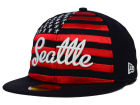 Seattle Mariners New Era MLB Big Merica 59FIFTY Cap Fitted Hats