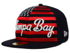 Tampa Bay Rays New Era MLB Big Merica 59FIFTY Cap Fitted Hats