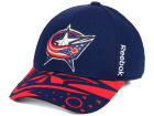 Columbus Blue Jackets Reebok NHL 2015 Draft Flex Cap Stretch Fitted Hats