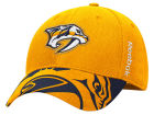 Nashville Predators Reebok NHL 2015 Draft Flex Cap Stretch Fitted Hats