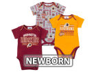 Washington Redskins NFL Newborn 3pc Bodysuit Set Infant Apparel