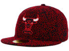 Chicago Bulls New Era NBA Hardwood Classics Custom Collection 59FIFTY Cap Fitted Hats