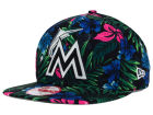 Miami Marlins New Era MLB Pop Trop 9FIFTY Snapback Cap Adjustable Hats