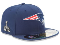 New Era NFL Super Bowl XLIX On Field Patch 59FIFTY Cap Fitted Hats