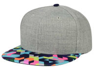 June Pixalated Printed Visor Snapback Hat Hats
