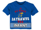 Kansas Jayhawks adidas NCAA Infant My New First Short Sleeve T-Shirt Infant Apparel