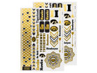 Iowa Hawkeyes Little Earth Metallic Tattoo Pack Apparel & Accessories