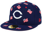 Cincinnati Reds New Era MLB All Flags 59FIFTY Cap Fitted Hats