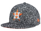 Houston Astros New Era MLB All-Cement 59FIFTY Cap Fitted Hats
