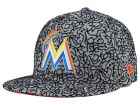 Miami Marlins New Era MLB All-Cement 59FIFTY Cap Fitted Hats
