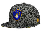 Milwaukee Brewers New Era MLB All-Cement 59FIFTY Cap Fitted Hats