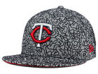 Minnesota Twins New Era MLB All-Cement 59FIFTY Cap Fitted Hats