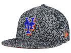 New York Mets New Era MLB All-Cement 59FIFTY Cap Fitted Hats