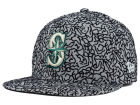 Seattle Mariners New Era MLB All-Cement 59FIFTY Cap Fitted Hats
