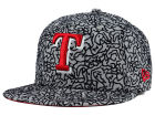 Texas Rangers New Era MLB All-Cement 59FIFTY Cap Fitted Hats