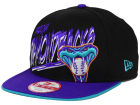 Arizona Diamondbacks New Era MLB Neon Word Scribbs 9FIFTY Snapback Cap Adjustable Hats
