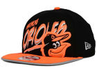 Baltimore Orioles New Era MLB Neon Word Scribbs 9FIFTY Snapback Cap Adjustable Hats