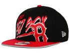 Boston Red Sox New Era MLB Neon Word Scribbs 9FIFTY Snapback Cap Adjustable Hats