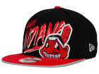 Cleveland Indians New Era MLB Neon Word Scribbs 9FIFTY Snapback Cap Adjustable Hats