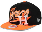 Houston Astros New Era MLB Neon Word Scribbs 9FIFTY Snapback Cap Adjustable Hats