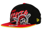 Pittsburgh Pirates New Era MLB Neon Word Scribbs 9FIFTY Snapback Cap Adjustable Hats