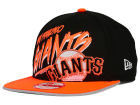 San Francisco Giants New Era MLB Neon Word Scribbs 9FIFTY Snapback Cap Adjustable Hats