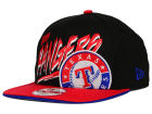 Texas Rangers New Era MLB Neon Word Scribbs 9FIFTY Snapback Cap Adjustable Hats