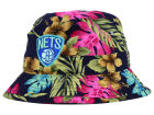 Brooklyn Nets Mitchell and Ness NBA Hawaiian Print Bucket Hats