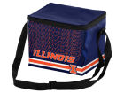 Illinois Fighting Illini Forever Collectibles 6pk Lunch Cooler Big Logo Home Office & School Supplies