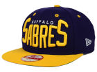 Buffalo Sabres New Era NHL Vintage Big Word 9FIFTY Snapback Cap Adjustable Hats