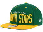 Minnesota North Stars New Era NHL Vintage Big Word 9FIFTY Snapback Cap Adjustable Hats