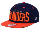 New York Islanders New Era NHL Vintage Big Word 9FIFTY Snapback Cap Adjustable Hats