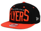 Philadelphia Flyers New Era NHL Vintage Big Word 9FIFTY Snapback Cap Adjustable Hats