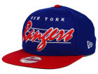 New York Rangers New Era NHL Vintage Liner 9FIFTY Snapback Cap Adjustable Hats