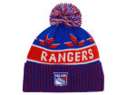 New York Rangers Old Time Hockey NHL Dasher Pom Knit Hats
