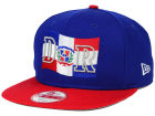Dominican Republic New Era Country Original Fit 9FIFTY Snapback Cap Adjustable Hats